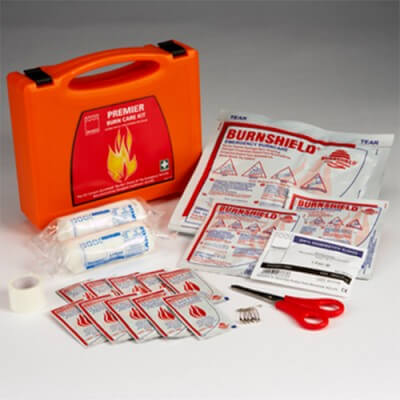 Home or workplace burns first aid kit