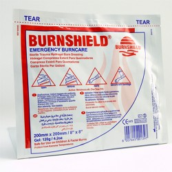 Single burnshield dressing 20cm x 20cm