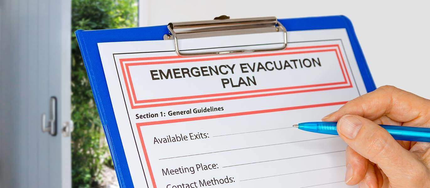 Fire evacuation and duties of a fire marshal