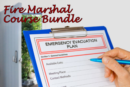 Fire Marshal Discounted Course Bundle